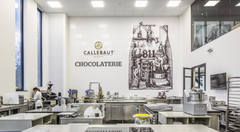 Barry Callebauts Chocolate Academy in Lebbeke