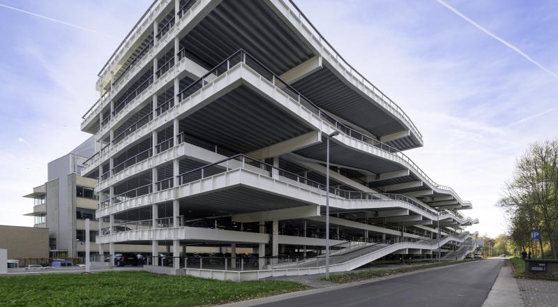 IMEC car park in Leuven