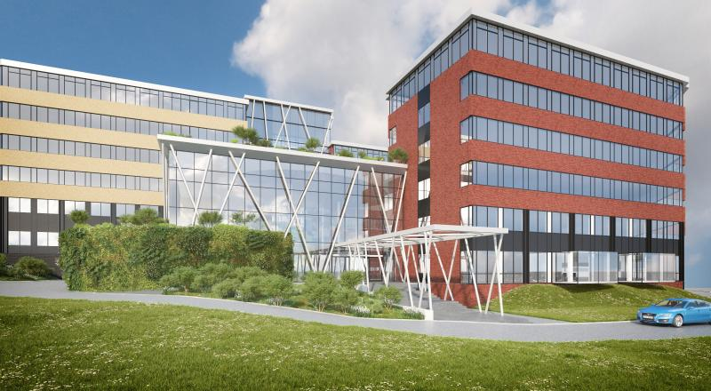 Uitbreiding kantoor 'Greenhouse'
