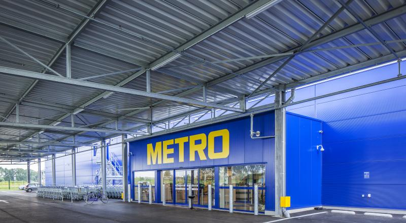Sixth Belgian METRO branch in Evergem