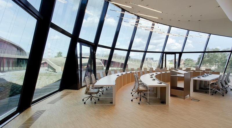DBM nieuw administratief centrum