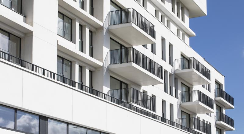 Nieuwbouw appartementengebouw Nautilus in Anderlecht