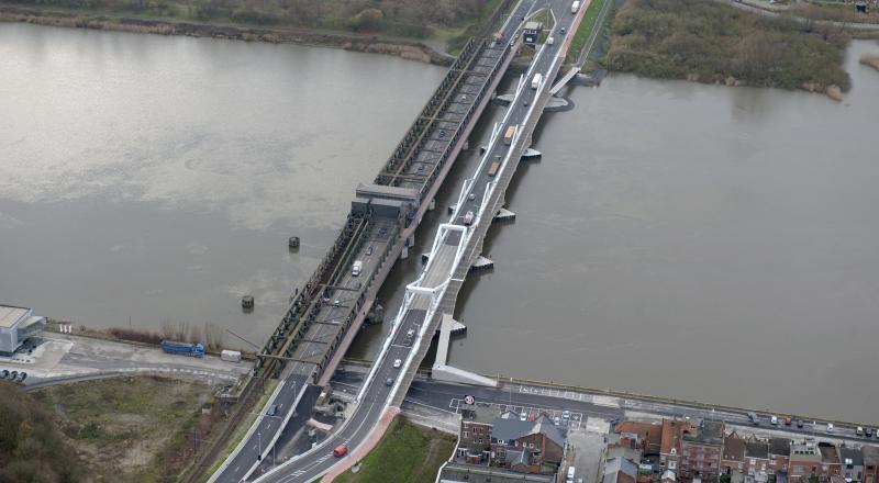 Cordeel builds second Scheldt bridge in Temse