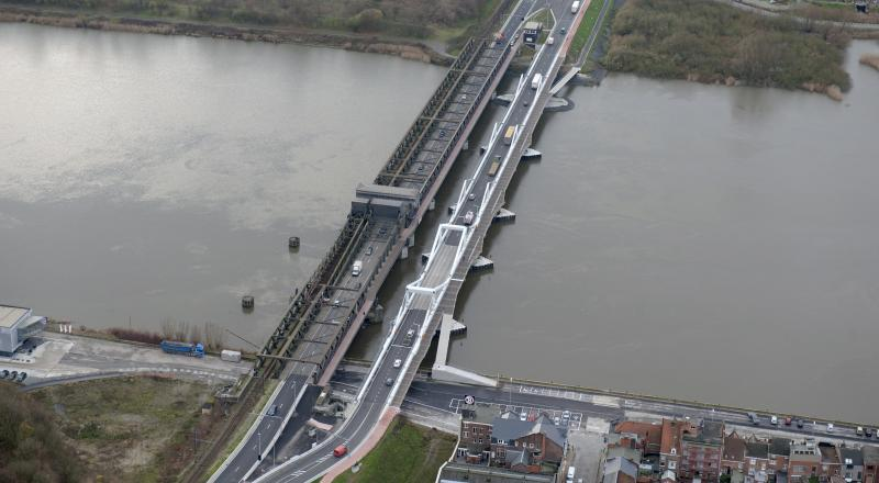 Cordeel builds second Scheldt bridge in Temse