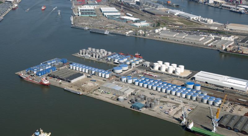 Meerdere tankparken gebouwd in Antwerpse haven